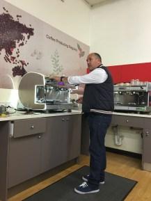 John the coffee master