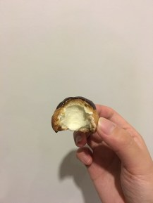 Choux - it is really hollow!!!