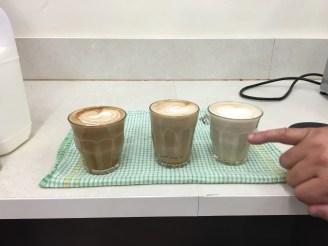 Jon's three lattes