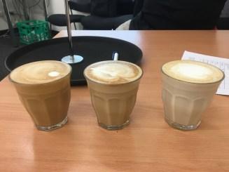 My three lattes