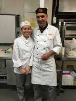 Me and Chef Fabien :)