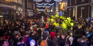 Old Town Christmas Lights