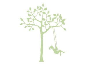 120-pale-green-tree-girl-swing-wall-decals-weedecor
