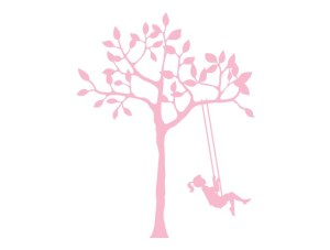 120-pink-tree-girl-swing-wall-decals-weedecor