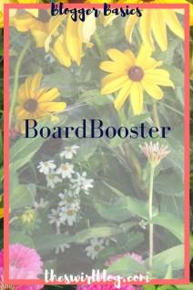 Blogger Basics: BoardBooster