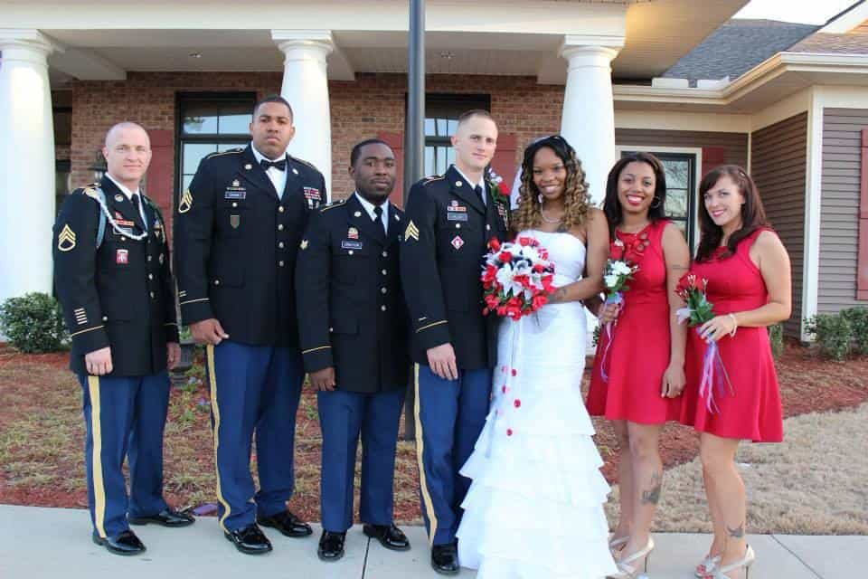 Jamaica and Brad Miller_Wedding photo