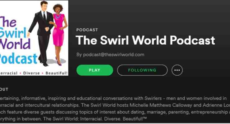 The Swirl World Podcast Is Now On Spotify!