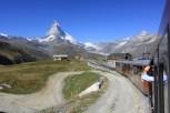Gornergrat - przyjemny wjazd na szczyt