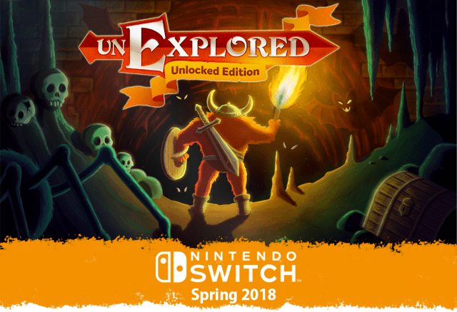 Unexplored: Unlocked Edition to bring its dungeon crawling to Switch