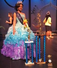 Miss Junior, Alexxis Mitchell . File photo.