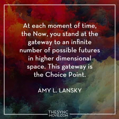timeisart, amy lansky, synchronicity