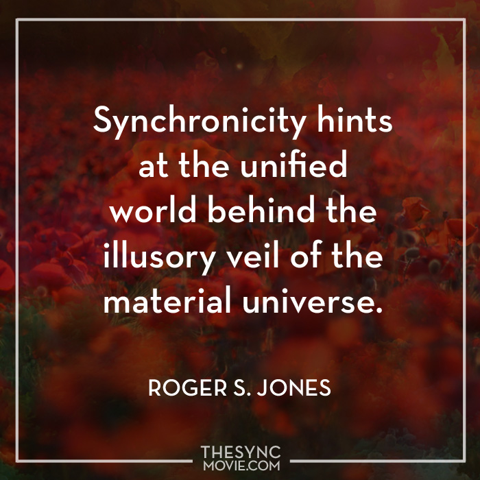 time is art, synchronicity, quote, documentary