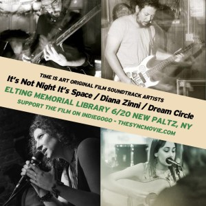 dream circle, live, innis band, diana zinni, time is art, soundtrack