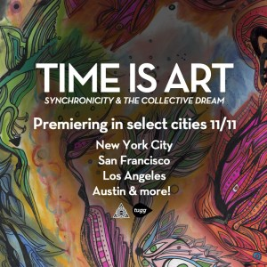 time is art, in theaters, 11/11