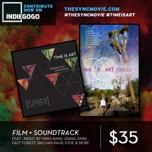 time is art, film, soundtrack, crowdfunding