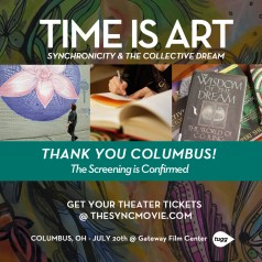 Columbus, Gateway film center, time is art