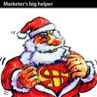 santa as a marketing device