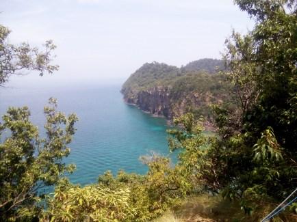 Ko Rok cliff view