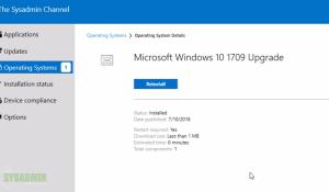 Upgrade Windows 10 SCCM Task Sequence