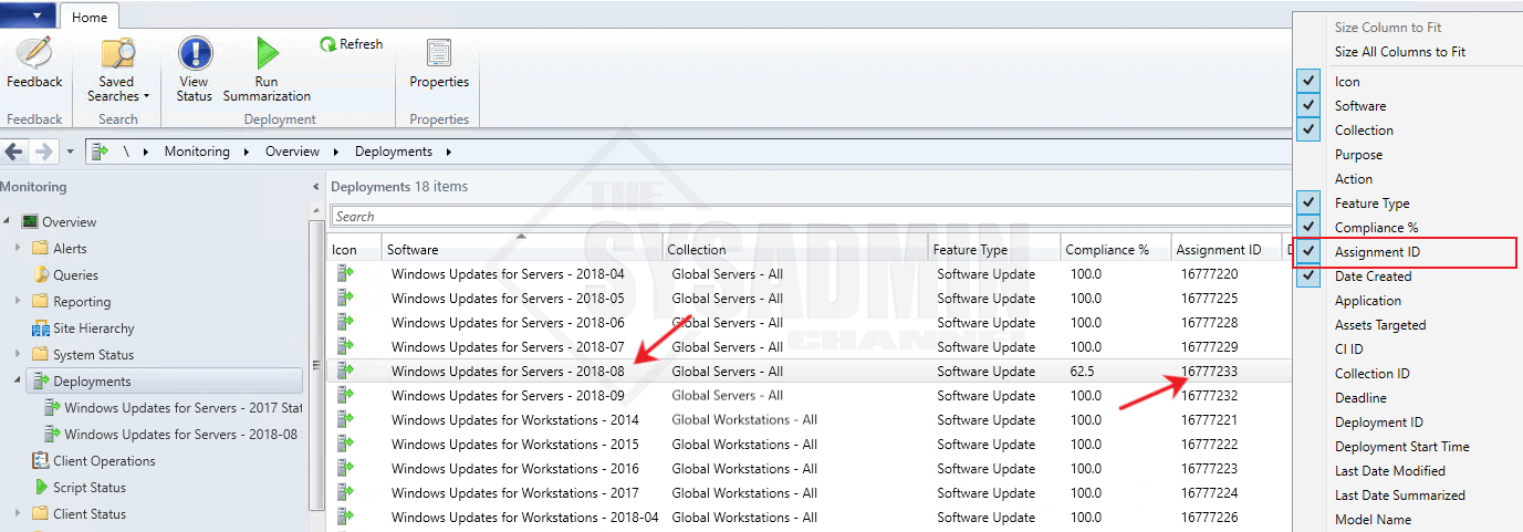 Get SCCM Software Update Status using Powershell
