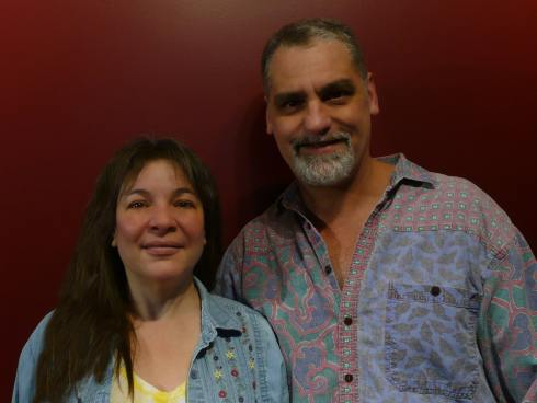 Lillian and Dave Brummet, Drum It With Brummet Blog, on The Table Read