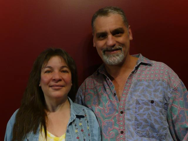 Lillian and Dave Brummet, authors of From One Small Garden, interview on The Table Read