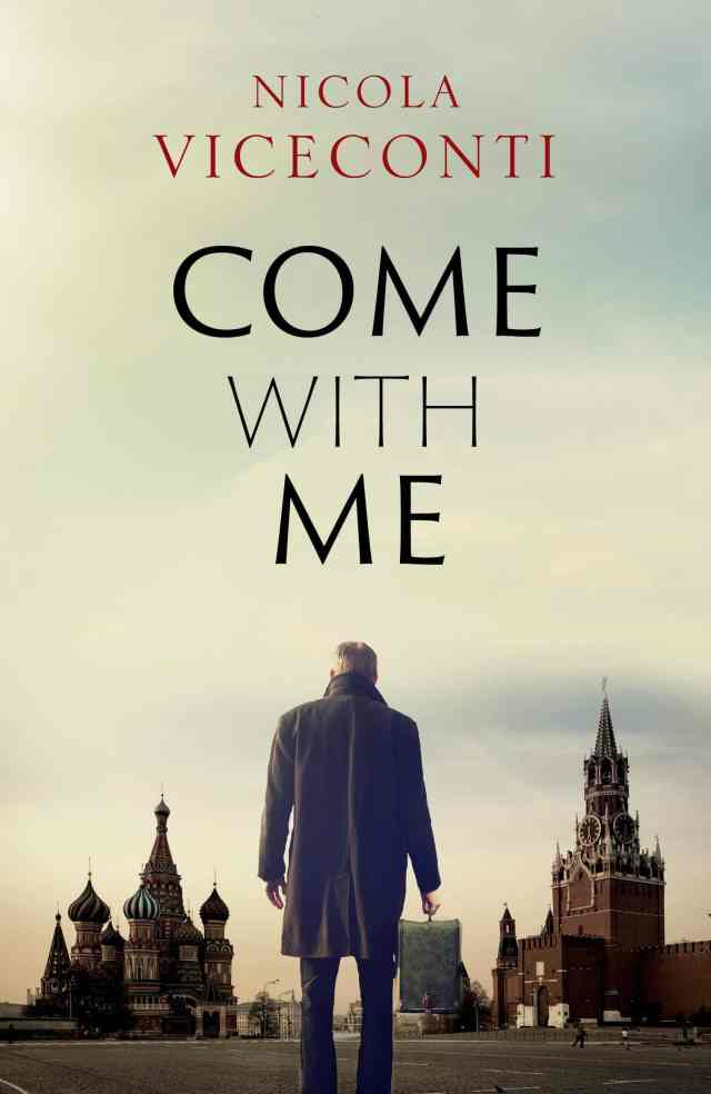 Come With Me by Nicola Viceconti, author interview on The Table Read