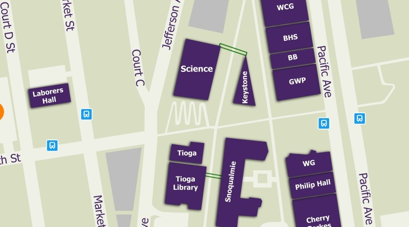 Seniors Give Back with New Campus Map - The Tacoma Ledger