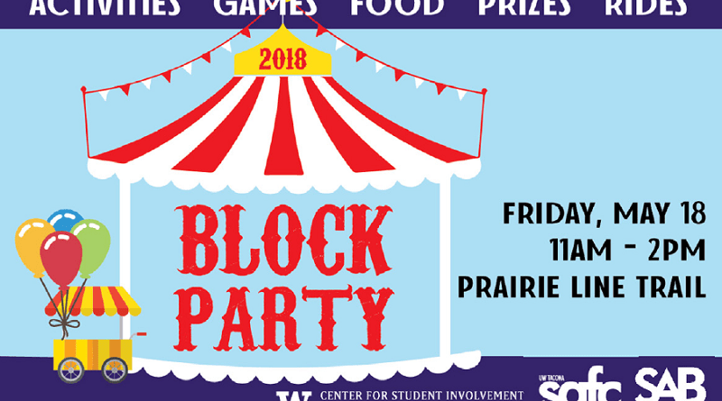 The annual UWT Block Party is almost here