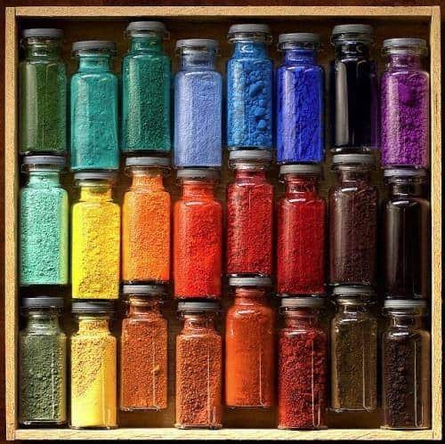 Pigments | any colors have names that have historical origins.