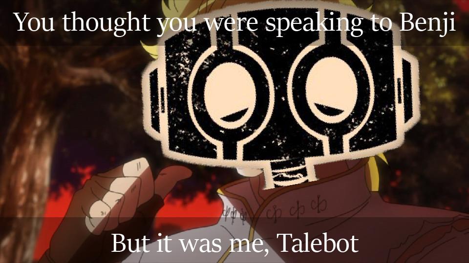 Blaze — Talebot Meme #3