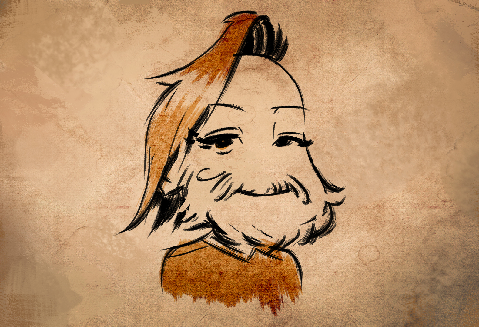 Felipe de Barros — Chibi Beard Benji (fan request on stream)