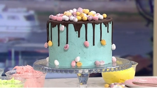 Juliet Sear Eggs Tra Special Easter Cake Recipe On This Morning The Talent Zone
