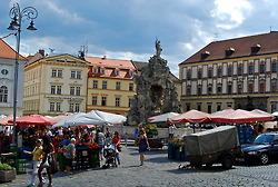 Walking through the streets of beautiful Brno, Czech Republic