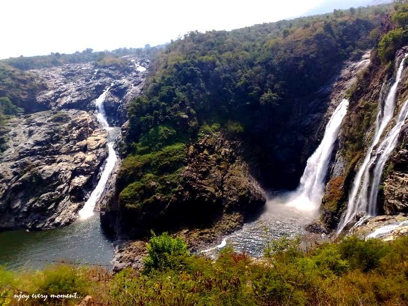 Shivanasamudram waterfall -1