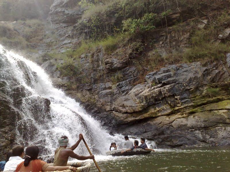 Shivanasamudram waterfall -2
