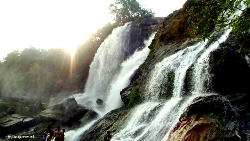 Shivanasamudram waterfall -3