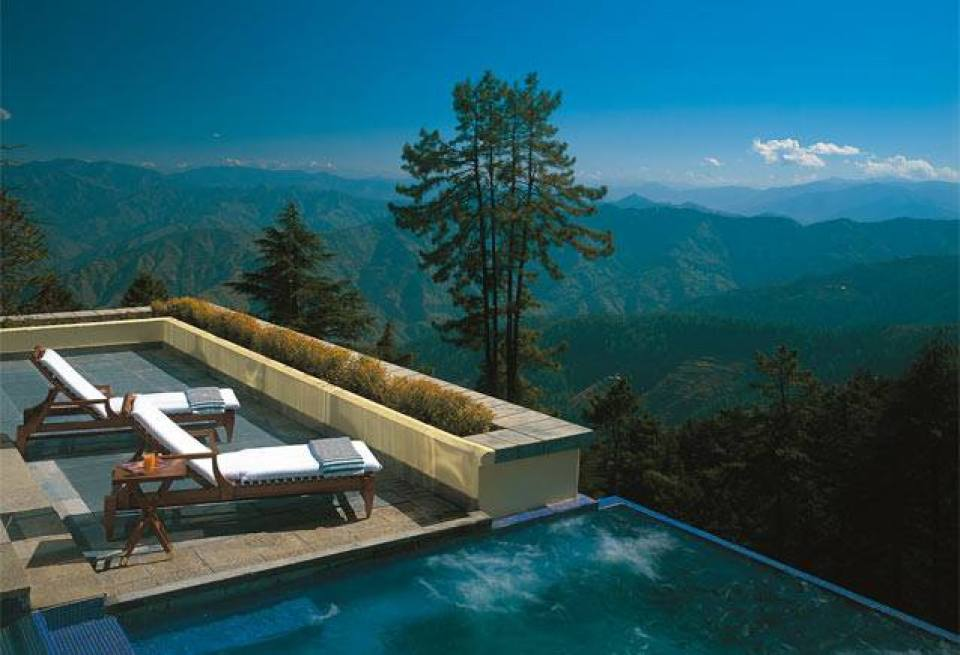 Oberoi Wild Flower Shimla Top 10 Awesome Pools in India