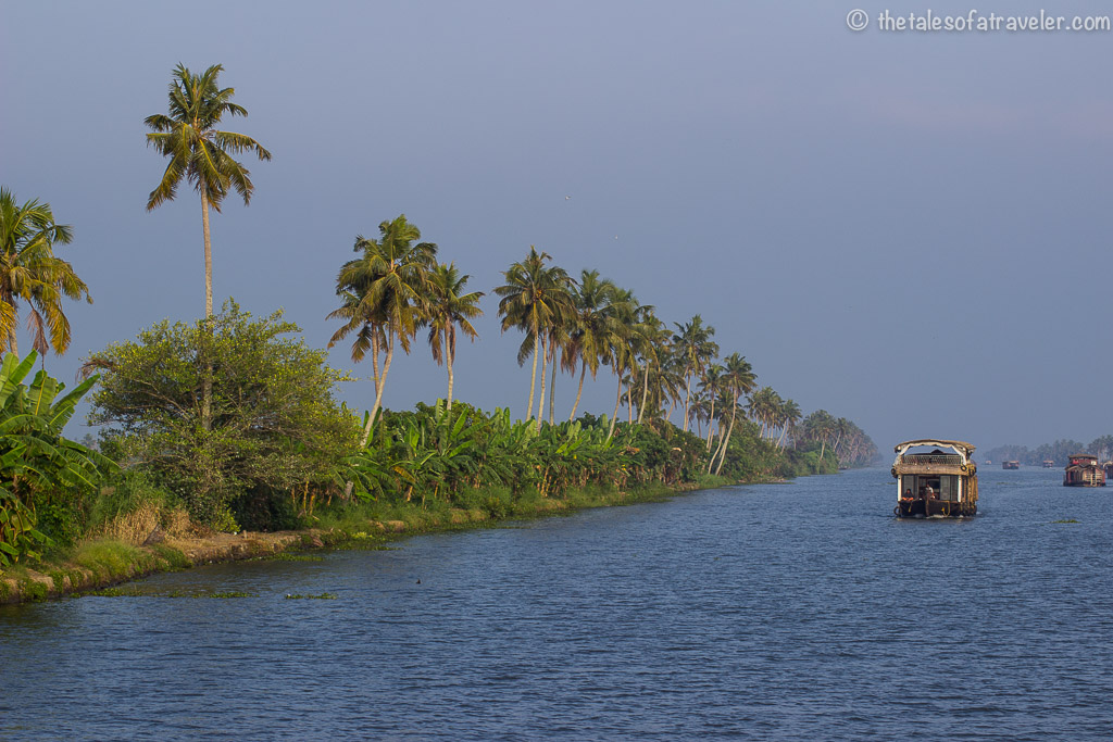 Houseboat stay in Kerala 3