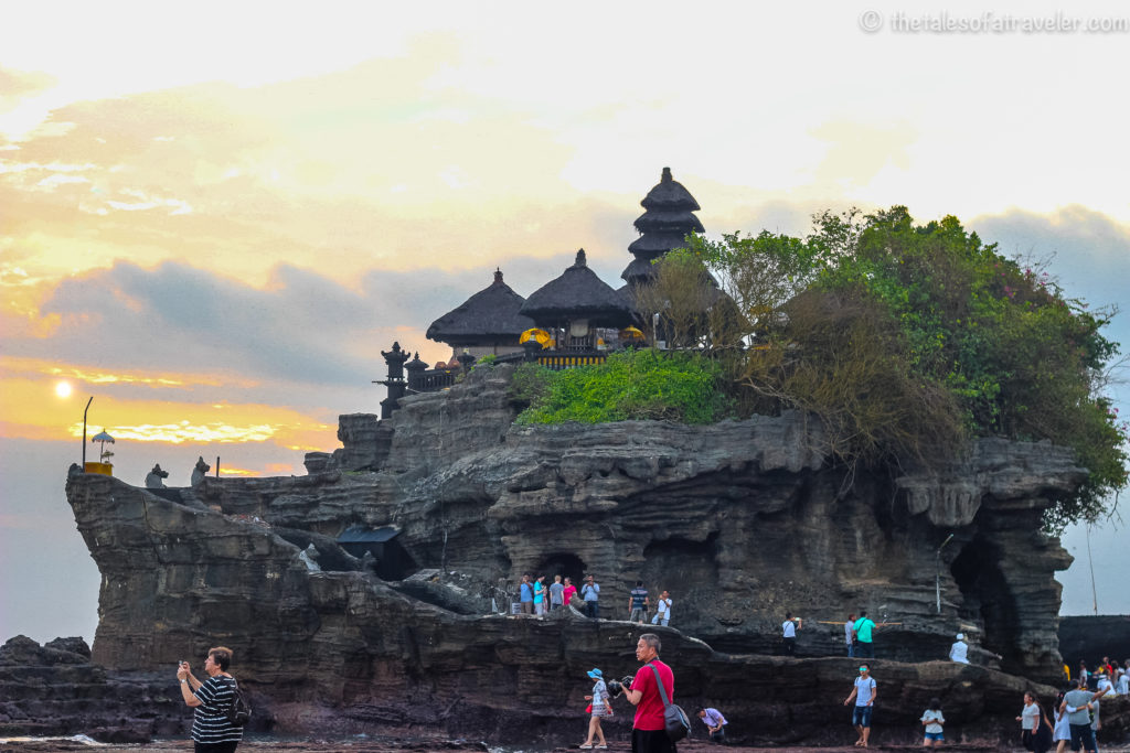 Bali Itinerary 5 Days Tanah Lot Temple -