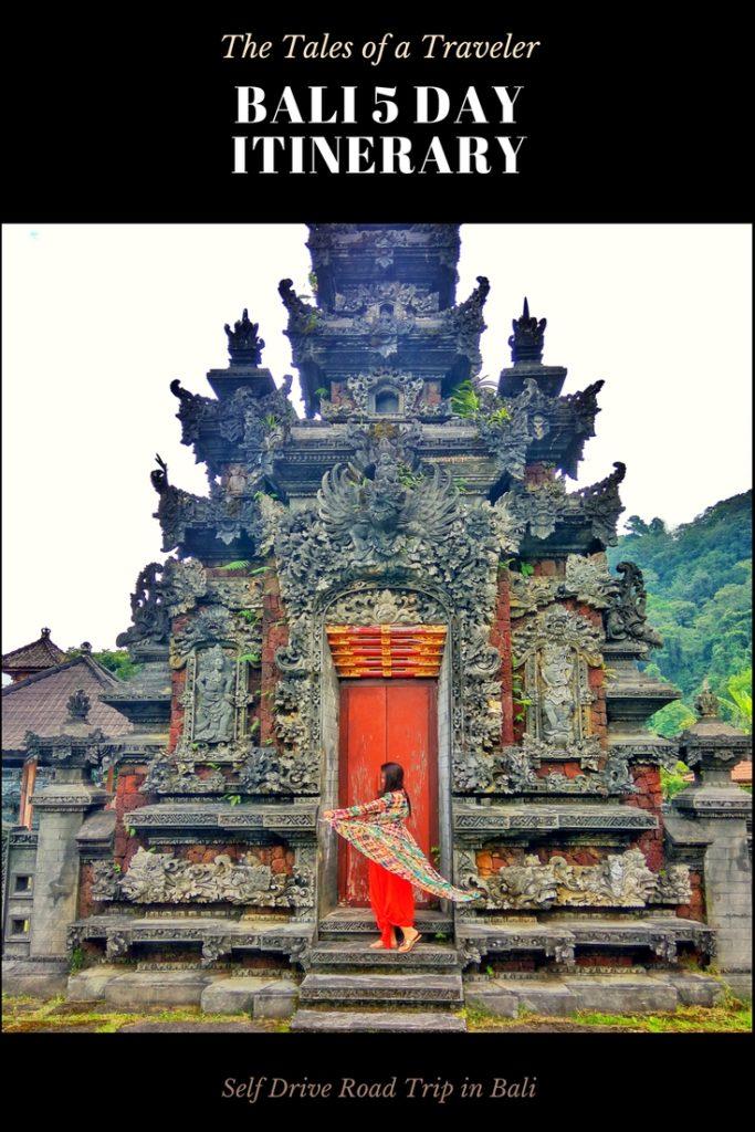 Bali 5 Day Itinerary