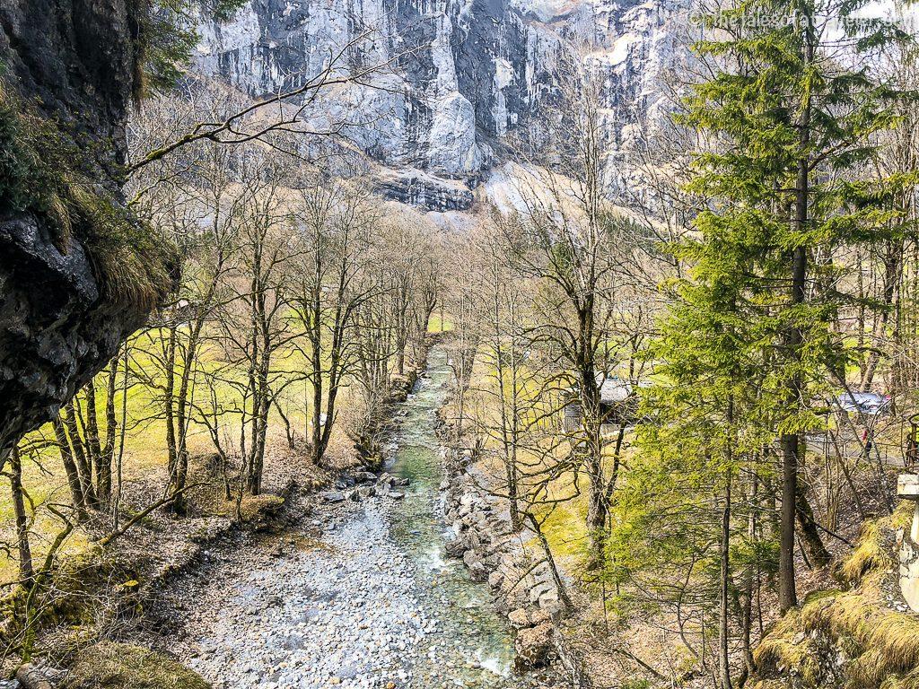 Trummelbach Falls in Lauterburnnen