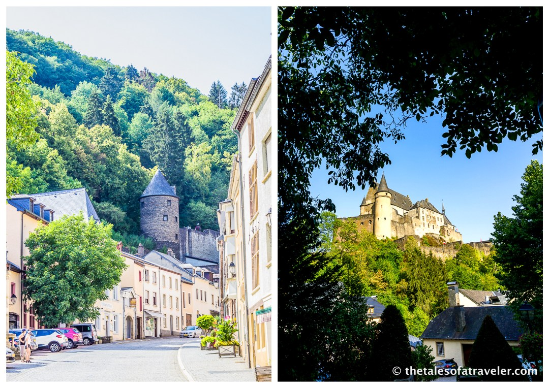 How to reach Vianden Castle By Train