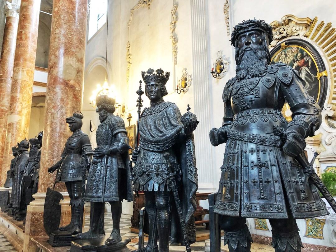 Black men of Court Church, Innsbruck