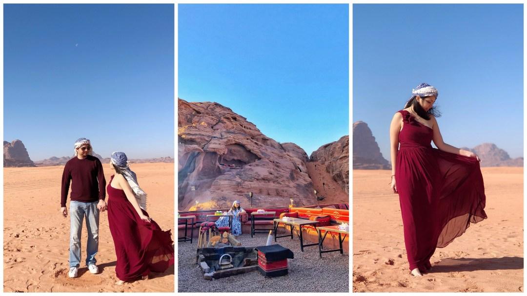 Jordan Road Trip Itinerary - Stay at Wadi Rum
