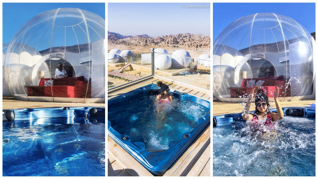 Luxury Bubble Tent with Jacuzzi