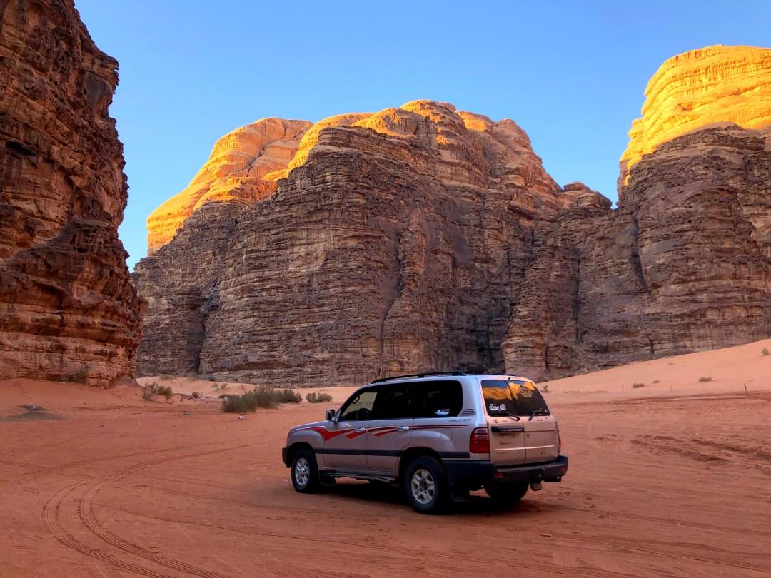 Jordan Road Trip Itinerary - Wadi Rum Sunrise Tour