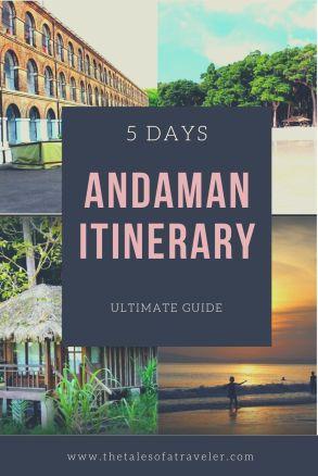Andaman Island Itinerary
