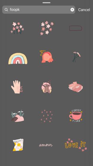 Best Instagram Stickers/ GIF - FOOPK