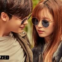 Lee Jong Suk and Han Hyo Joo for Dazed and Confused Nov 2016